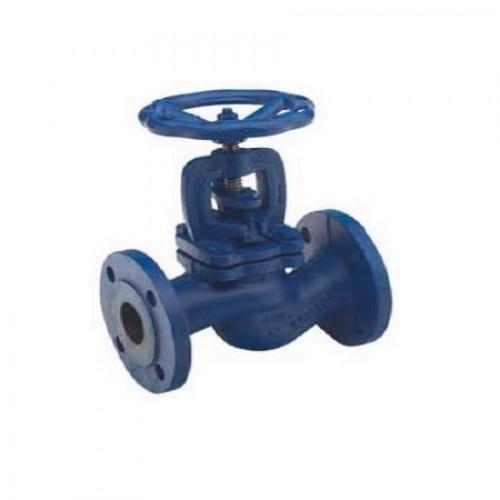 Клапан проходной невозвратно-запорный чугунный фланцевый ЮБС1513-01 (ду 150)