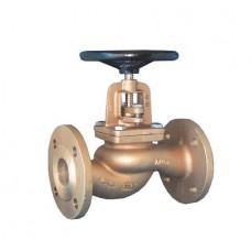 Клапан проходной невозвратно-запорный бронзовый фланцевый ЮБС1519-01 (ду 15)
