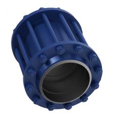 Клапан обратный поворотный фланцевый 19нж38нж ЮБС1933 (ду 100)