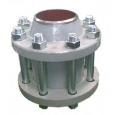 Клапан обратный поворотный фланцевый 19с38нж ЮБС1932 (ду 100)
