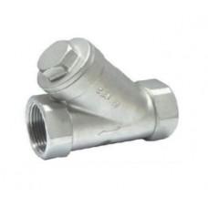 Клапан обратный муфтовый из нержавеющей стали ЮБС1608 (ду 8)