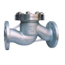 Клапан обратный подъемный фланцевый из нержавеющей стали ЮБС1622 (ду 150)