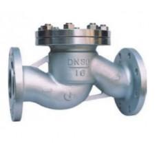 Клапан обратный подъемный фланцевый из нержавеющей стали ЮБС1623 (ду 32)