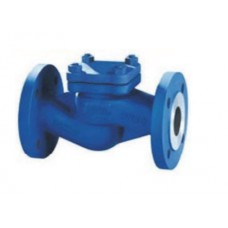 Клапан обратный подъемный фланцевый стальной ЮБС1628 (ду 40)