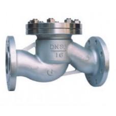 Клапан обратный подъемный фланцевый из нержавеющей стали 16нж10нж ЮБС1616 (ду 15)