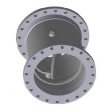 Клапан обратный поворотный фланцевый ЮБС1928 (ду 200)