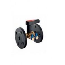 Клапан балансировочный латунный фланцевый Ballorex V (ду 15)