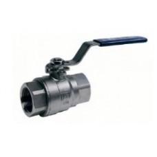 Кран шаровой полнопроходной из нержавеющей стали муфтовый VANTA 44-009 (ду 8)