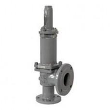 Клапан предохранительный пружинный фланцевый тип: 17ЛС7НЖ (ду 25)