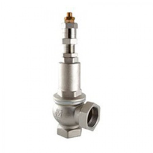Клапан предохранительный пружинный латунный муфтовый тип: VT1831 (ду 25)
