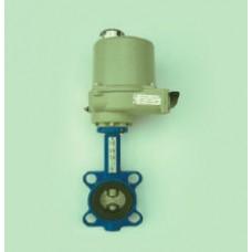 Затвор дисковый поворотный межфланцевый с электроприводом ТИП ЮБС3211-901 (ду 40)