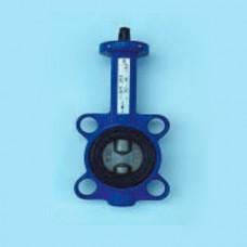 Затвор дисковый поворотный межфланцевый с голым штоком ЮБС3211 (ду 40)