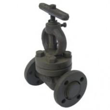 Клапан запорный проходной фланцевый стальной 15с27нж (ду 15)