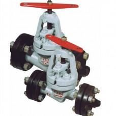 Клапан запорный проходной фланцевый стальной 15с52нж10 (ду 40)